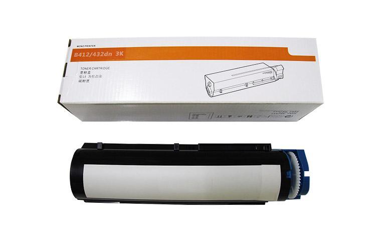 高品质墨粉3K可替代OKI45807103适用于OKI B412dn/B432dn/MB472dn/MB492dn 4