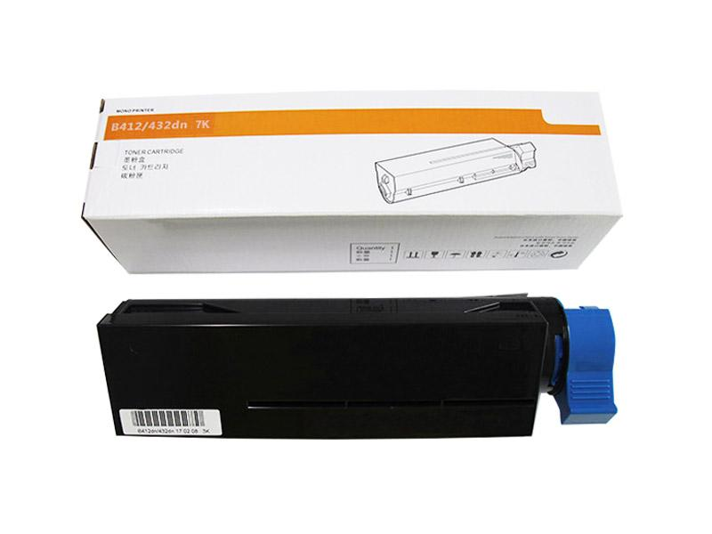 高品質墨粉7K可替代OKI45807107適用於OKI B412dn/B432dn/MB472dn/MB492dn 1