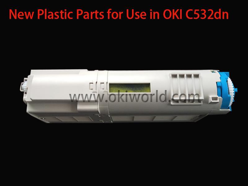 全新开模胶件适用于OKI C532dn/C542dn/MC573dn/MC563dn 4