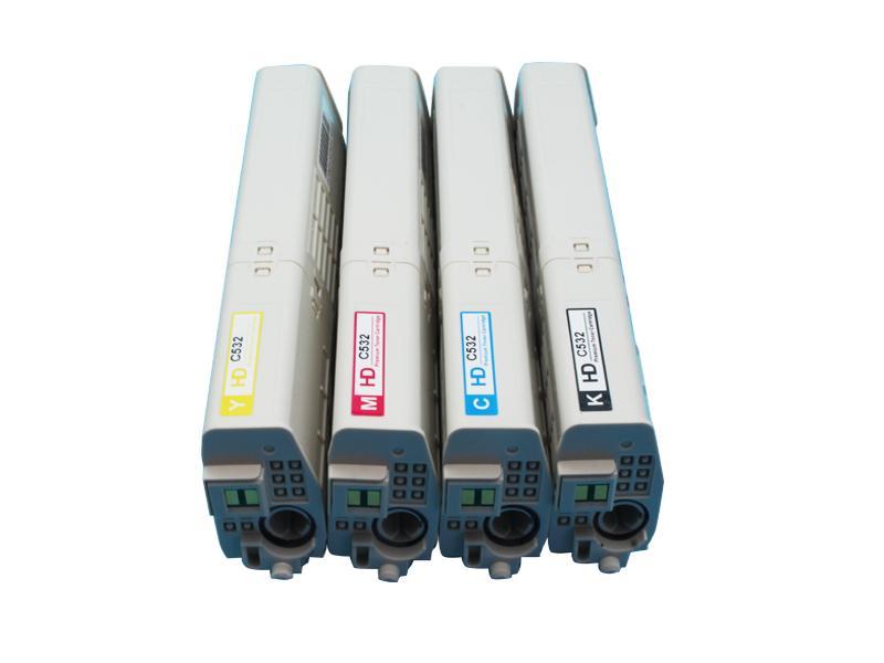 全新粉盒適用於 OKI C532dn MC573dn美洲打印機