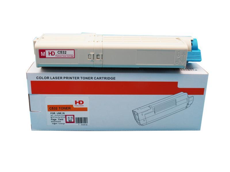 全新粉盒适用于 OKI C532dn MC573dn美洲打印机 4