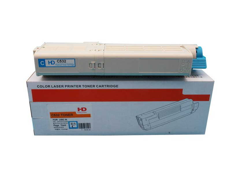 New Compatible Toner Cartridge for Use in the OKI C532dn MC573dn Printer 5