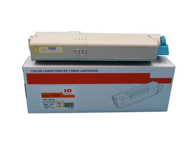 New Compatible Toner Cartridge for Use in the OKI C532dn MC573dn Printer 6