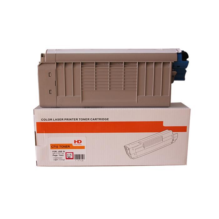 國產代用粉盒 適用於 OKI C712 C712N C712DN C712DNW 1