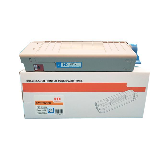 國產代用粉盒 適用於 OKI C712 C712N C712DN C712DNW 4