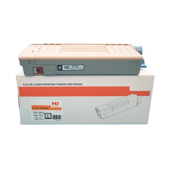国产代用粉盒 适用于 OKI C712 C712N C712DN C712DNW 5