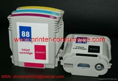 HP88/18 C9396A/C9386A with ink bag inkjet cartridge