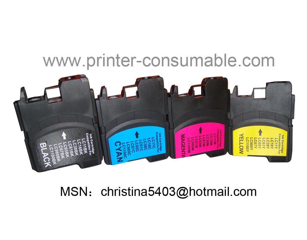 全新国产LC980 LC990墨盒 1