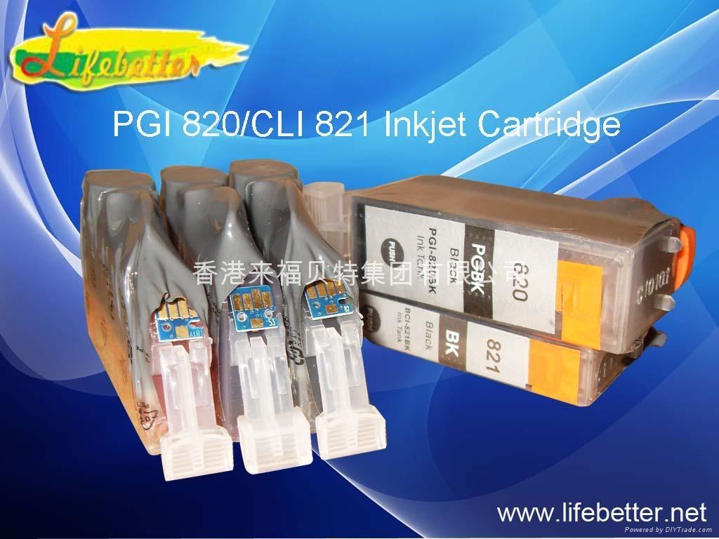 全新Canon PGI-820/CLI-821墨盒(带芯片) 1