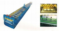 Chinese Closed Floor Deck Roll Forming Machine