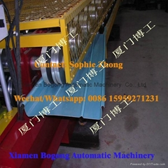 Aluminum Sheet Stand Seam  Roof Roll Forming Machine