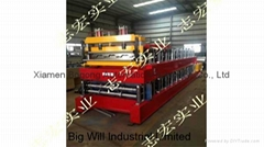 YX130-600 Floor Decking  Roll Forming Machine