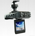 car camcorders with 1280P and AVI format 50/60HZ and 120 Degrees Lens Angle