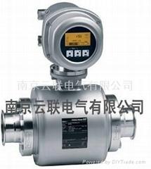 German E + H pressure gauge
