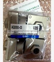 SMC cylinder, valves