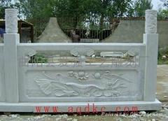 漢白玉欄杆、攔板 LB 015