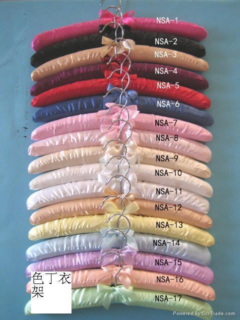絲綢衣架 1