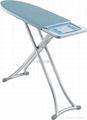 Metallic ironing board