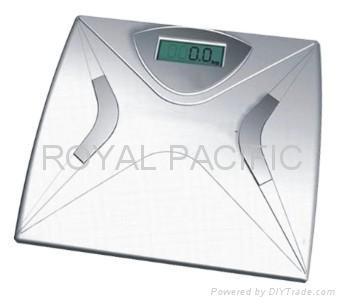 Metal bathroom scales