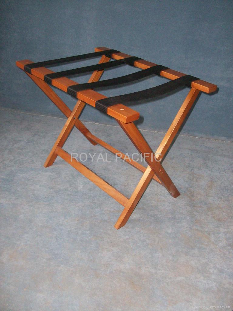 wooden luggage rack 2