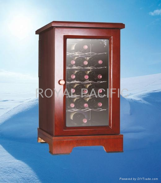 木紅酒櫃 1