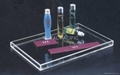 acrylic amenities trays
