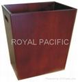 木製垃圾桶