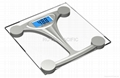 bathroom scales backlight