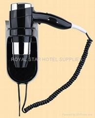 酒店壁挂电吹风
