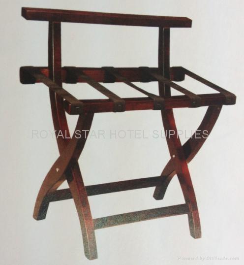wooden luggage rack 1