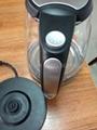 glass cordless kettle