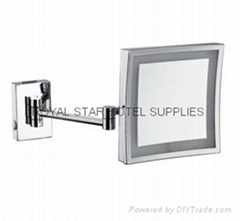 square bathroom mirror