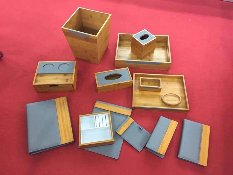 wooden item sets