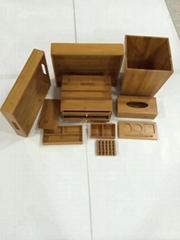 hotel wooden items