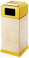 Marble dustbin