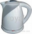 Cordless plastic electric kettle