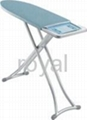Metallic ironing board