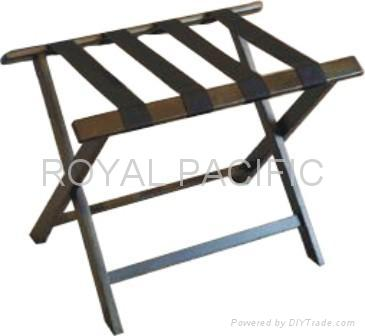 wooden luggage rack 1