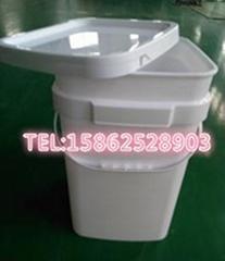 8加仑大口塑料方桶 30L塑料方桶