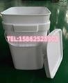 8加侖大口塑料方桶 30L塑料方桶 4