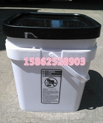 6加仑长方形23L升塑料桶