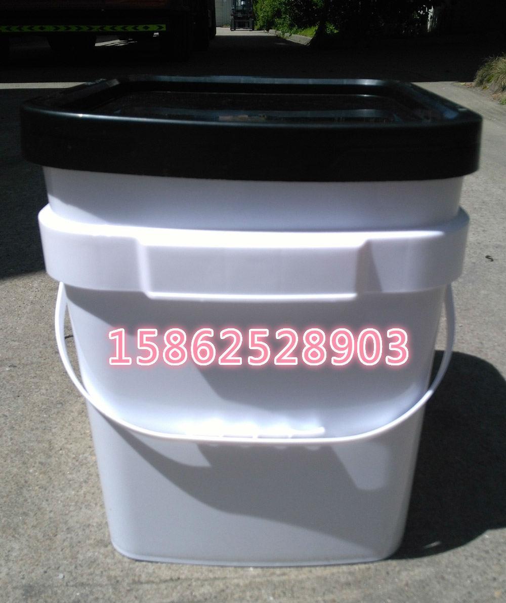 6加侖長方形23L升塑料桶 3
