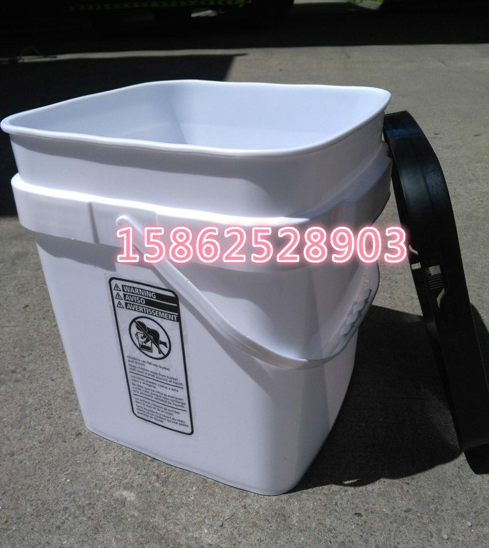 6加侖長方形23L升塑料桶 2