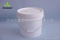 3.5加仑塑料桶 1