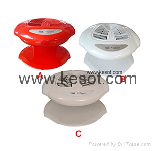 Hot and cold wind  Nail polish Dryer with 400W fan system  1