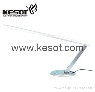 Silver Nail table lamp with oval base 2