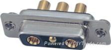 2芯大電流連接器