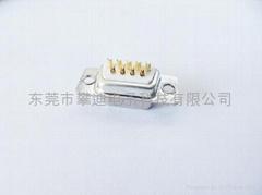 d-sub焊线接头15针连接器插座车针公母插头厂家直销
