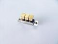 廠家直銷d-sub大電流車針連接器3w3實芯焊線式接頭 2