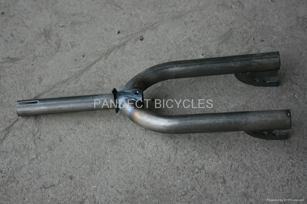 Bicycle frame and fork 5